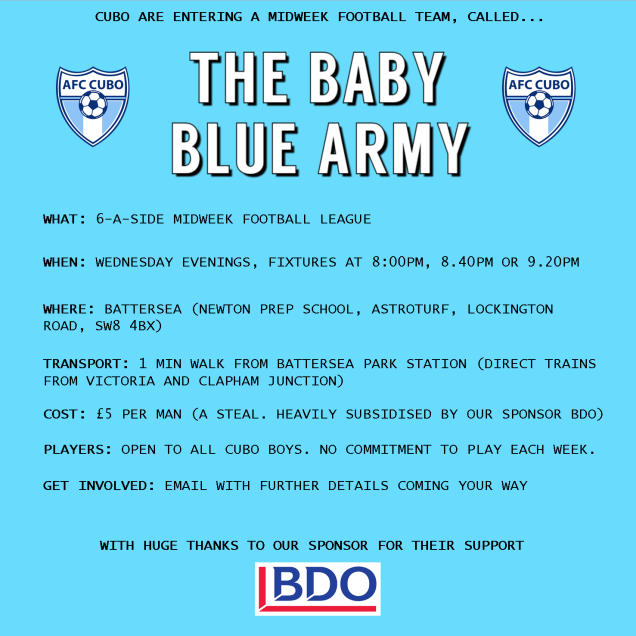 baby blue army flyer
